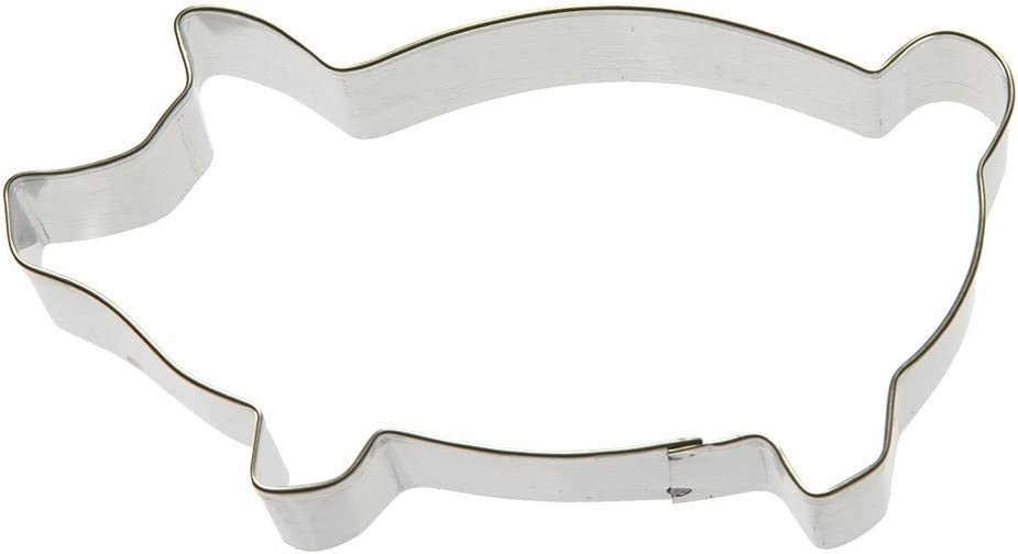 Foose Marranitos Pig Cookie Cutter 5 in