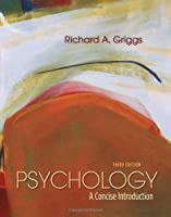 Psychology: A Concise Introduction, 3rd Edition Front Cover