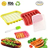 Silicone Hot Dog Mold -DIY homemade Silicone Baking Cake Sausage Mold - Silicone lce Cube Mould