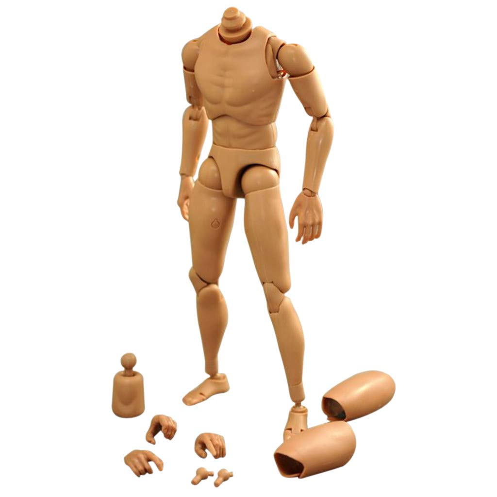 1//6 Male Men Figure Body Narrow Shoulder Ver 4.0 For Hot Toy Baby Doll Toys