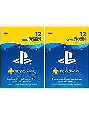 PlayStation Plus Mitgliedschaft   24 Monate   PS4 Download Code - österreichisches Konto  - 12 + 12 Monate Edition   PS4 Download Code - österreichisches Konto