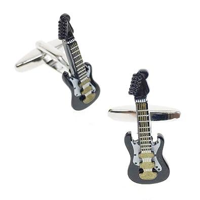 Cuff-Arts Gemelos de Guitarra para Hombre con diseño de Gemelos ...