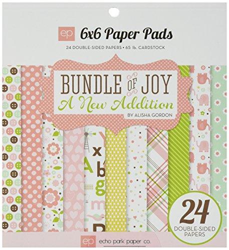 Echo Park Paper Company Bundle of Joy Girl 2 Paper Pad (Echo Park Bundle Of Joy Girl)