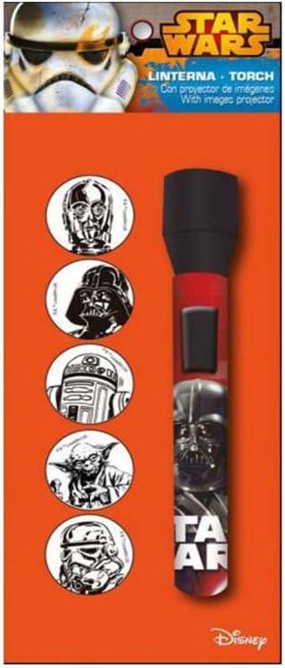 Linterna Proyector Star Wars Disney: Amazon.es: Juguetes y juegos