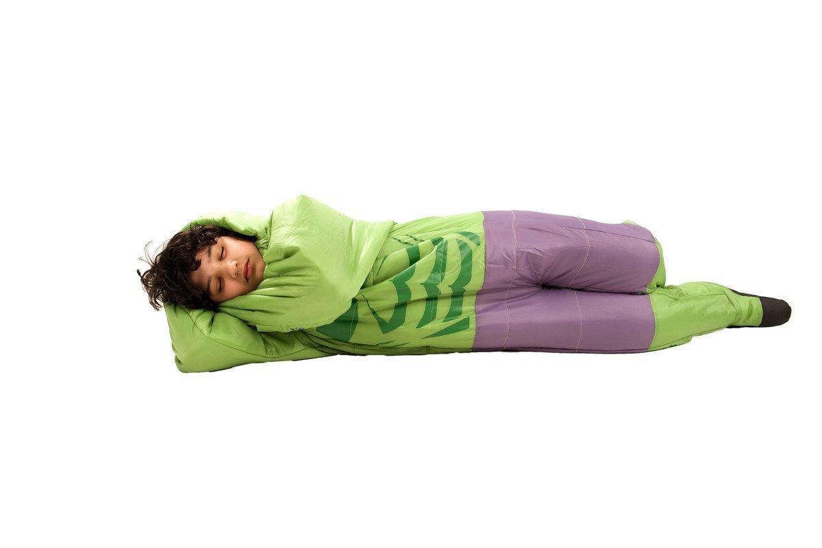 Saco de dormir Hulk SelkBag para niño - 10-12 años: Amazon.es: Deportes y aire libre