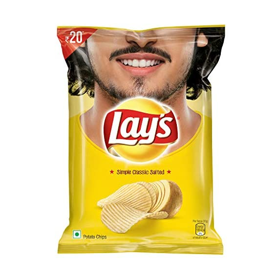 Lay's Potato Chips - Simple Classic Salted, 52g