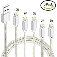 Nanming Phone Cable 5pcs Charging Cable Cord to USB Chargers