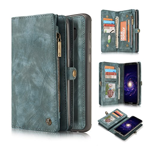 leather wallet case for Samsung galaxy s9 plus