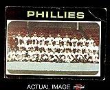 1971 Topps # 268 Phillies Team Philadelphia Phillies (Baseball Card) Dean's Cards 2 - GOOD Phillies