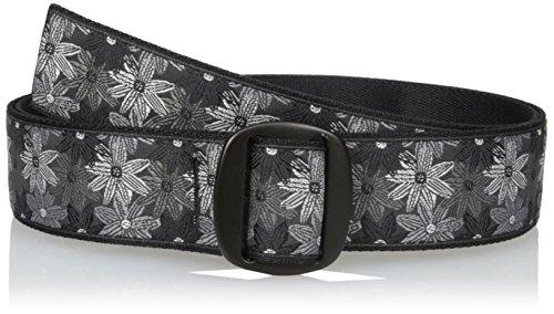 Bison Belt (Bison Designs Women's Manzo Belt with Anodized Aluminum Buckle, Flower,)