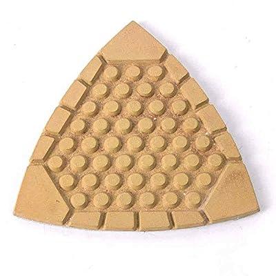 Specialty Diamond BRTTD400 Diamond Triangular Dry Pad, 400 Grit: Home Improvement