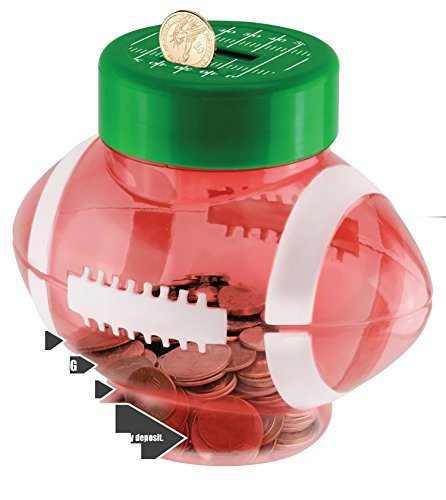(Digital Coin Football Bank With Cheering Sounds)