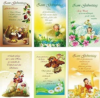 100 Cartes De Voeux A Anniversaire Enfants 51 5802 Carte D Anniversaire Carte De Voeux Amazon Fr Fournitures De Bureau