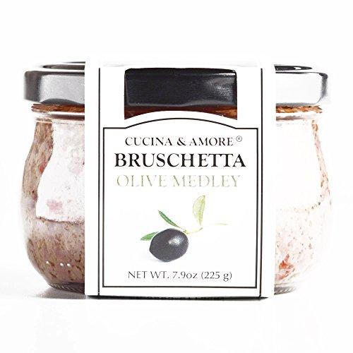 Cucina and Amore Olive Medley Bruschetta 16.8 oz each (1 Item Per Order, not per case)