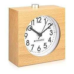 Digital Mirror LED Alarm Clock Night Lights Thermometer Wall Clock Lamp Square Rectangle