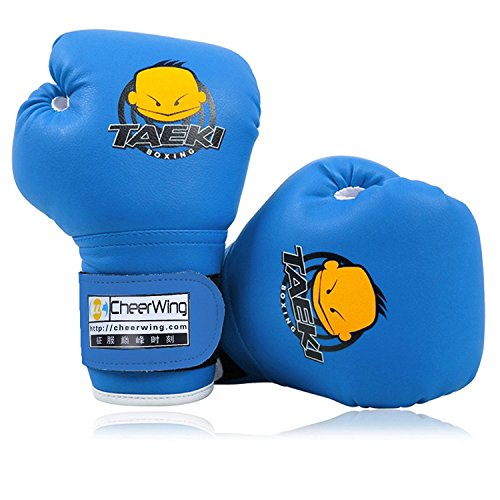Cheerwing 4oz PU Kids Boxing Gloves Children Cartoon MMA Sparring Dajn Training Gloves Age 5-10 Years