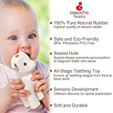 caaocho Pure Natural Rubber Baby Teether Toy - Sola