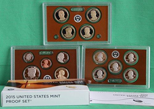 2015 S US Mint Proof Set (P17) OGP (Us Mint)