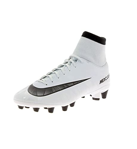 newest collection e475b 4eb33 Nike Scarpe Calcio Mercurial Victory 6 CR7 Bianco Suola AG PRO con Calza  Amazon.it Scarpe e borse