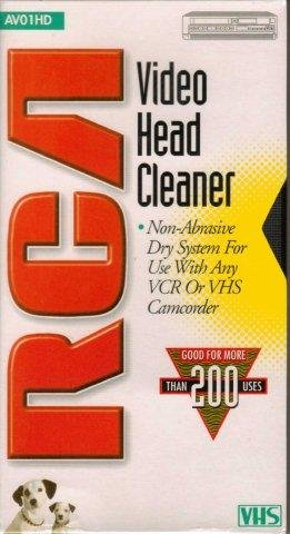 RCA AV01HD Video Head Cleaner