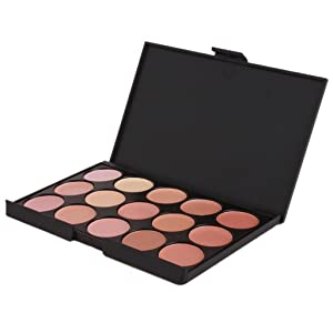 UNKE Professional 15 Colour Concealer Camouflage Contour Eye Face Cream Makeup Palette