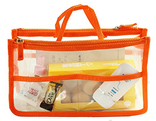 Travel Smart Hand Pouch Bag In Bag Organiser Cosmetic Gadget Purse Organizers Inserts