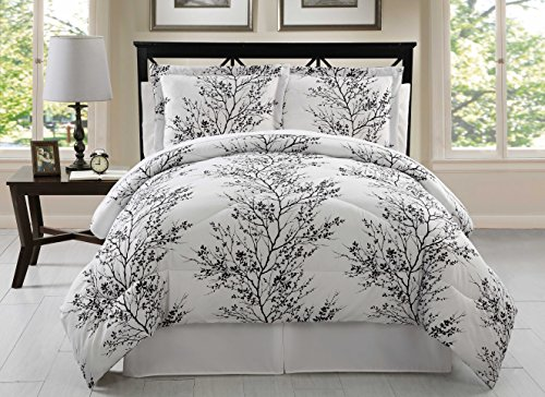 Black And White California King Bed In A Bag - 7