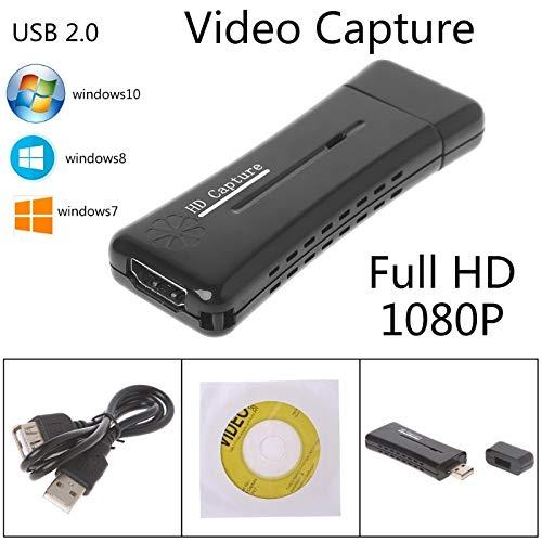 GOLDEN2STAR - USB Converter HD 1 Way HDMI 2.0 Video Capture Video For Windows XP/Vista/7/8/10