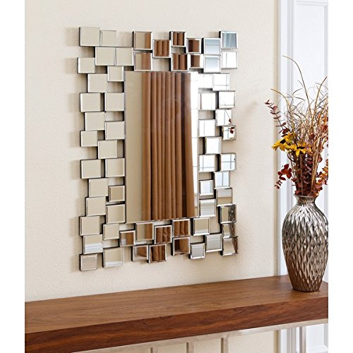 "ABBYSON LIVING Aiden Rectangle Wall Mirror. 35"" x 24"" for sale  Delivered anywhere in USA"