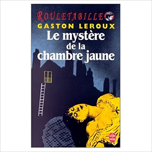 Le Mystere de la Chambre Jaune (Book and 8 Audio Compact Discs in French)