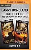 Larry Bond and Jim DeFelice Red Dragon Rising Series: Books 3-4: Shock of War & Blood of War (Red Dragon Series)