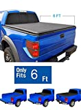 1996 ford ranger tonneau cover - EZ Auto Roll Up Truck Bed Tonneau Cover For 1993-2013 FORD RANGER Standard/Extended Cab 6 ft Bed (Excl. Flareside)