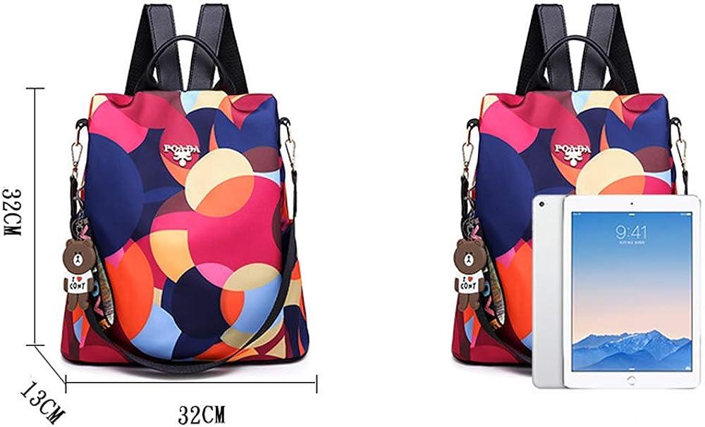 Retro ladies multifunctional Oxford cloth,anti-theft,waterproof,travel backpack
