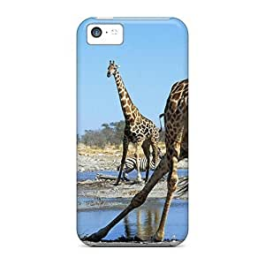 Brand New 5c Defender Case For Iphone (action At The Watering Hole)Kimberly Kurzendoerfer