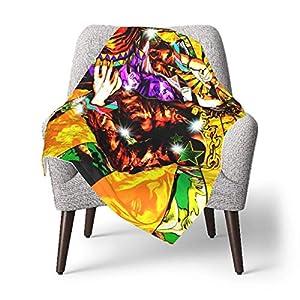 AOOEDM Baby Blanket Anime JoJo's Bizarre Adventure Toddler Kids Blanket Super Soft Baby Blankets Cozy Crib Lightweight…