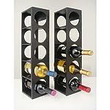 Rutherford Wine Rack (set of 2) (Black)