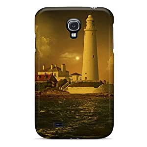 New Style DaMMeke Hard Case Cover For Galaxy S4- Lighthouse