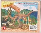 Woodcraft Construction Kit Velociraptor Dinosaur 3D
