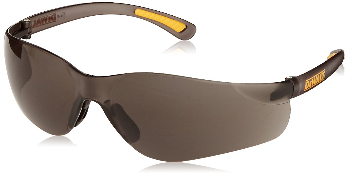 66f7b72a9c Radians DPG52-2D DeWalt Contractor Pro Safety Glasses with Smoke Lens - Eye  Protection Equipment - Amazon.com