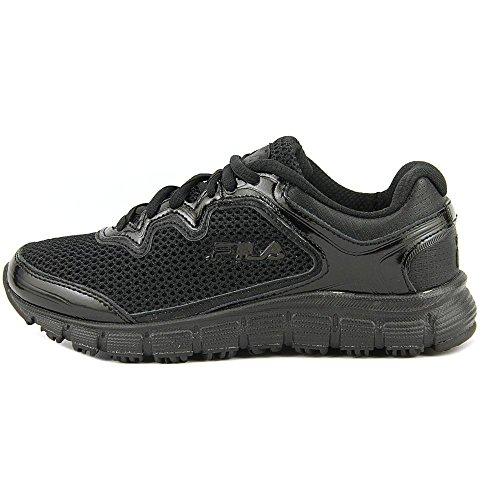 Fila Mã©Moire Fresh Start Antidã©Rapante Chaussures de Travail Black, Black, Metallic Silver