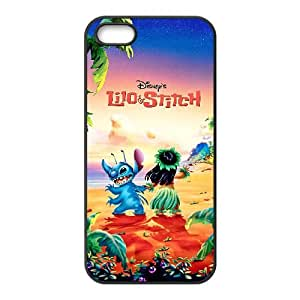 Lilo & Stitch iphone 4 4S Cell Phone Case Black Phone Accessories JV1G4172