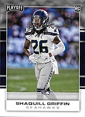 Amazon.com  2017 Panini Playoff  283 Shaquill Griffin Seattle ... bcf4a3b86
