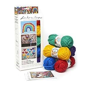 Lion Brand Yarn 3001-600 Kaye Theme Packs Yarn Roy G BIV