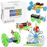 5 Set STEM Kit,DC Motors Electronic Assembly Kit