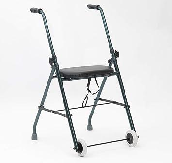 Drive DeVilbiss Featherlite - Andador con asiento y dos ruedas ...
