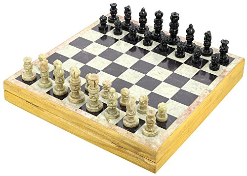 Rajasthan Stone Art Unique Chess Sets and Board from ShalinIndia