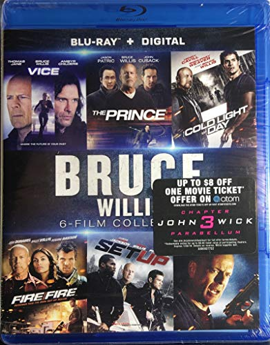 Bruce Willis: 6-Film Collection (Cold Light of Day / Fire with Fire / Hostage / The Prince / Set Up / Vice) [Blu-ray + Digital HD] (The Cold Light Of Day Bruce Willis)