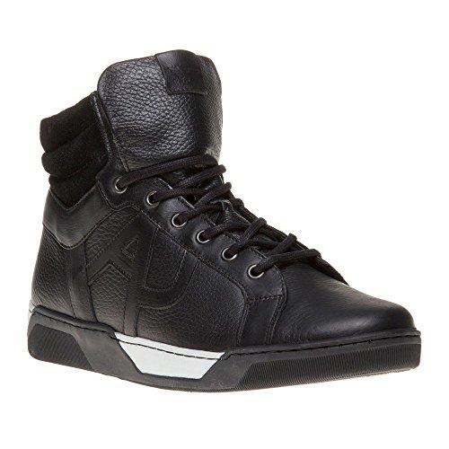 Descuento Grande De Salida Compras El Precio Barato Armani Jeans High Top Uomo Sneaker Nero nero Tienda En Línea Fbt4X