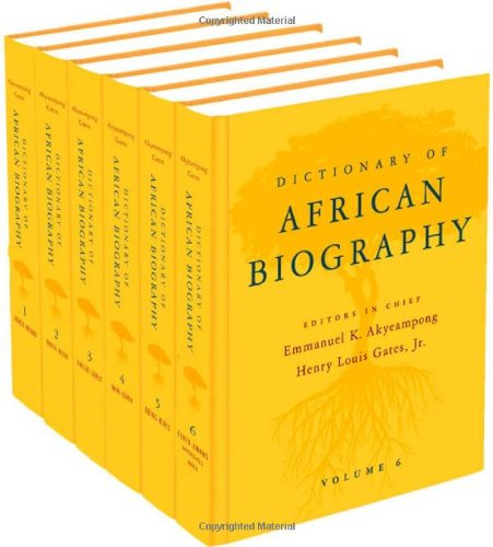 Dictionary of African Biography by Oxford University Press