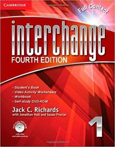 Interchange Level 1 Full Contact with Self-study DVD-ROM (Interchange Fourth Edition) (Edition 4th Interchange)